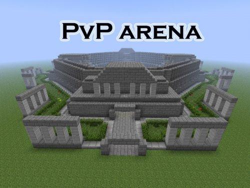PVP арена для Майнкрафт ПЕ Карты майнкрафт pvp арена
