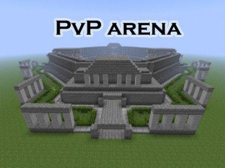 PvP Арена - карта для майнкрафт