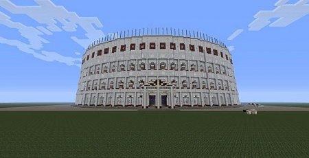 Romecraft Colosseum - карта Колизея для майнкрафт