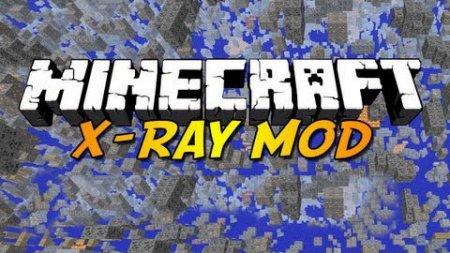 Чит X-Ray Mod для Minecraft 1.6.1