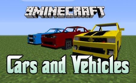 Мод на машины для Minecraft 1.6.4