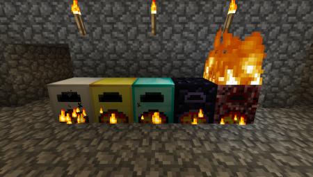Дополнительные печи для Minecraft 1.6.*
