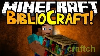 BiblioCraft для Minecraft 1.7.2 - Уют в доме!