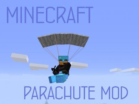 Parachute Mod - парашют в Minecraft 1.7.2