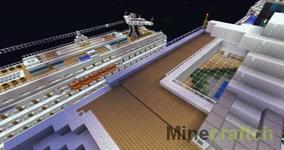 2 Cruise Ships - Круизные Лайнеры в Minecraft!