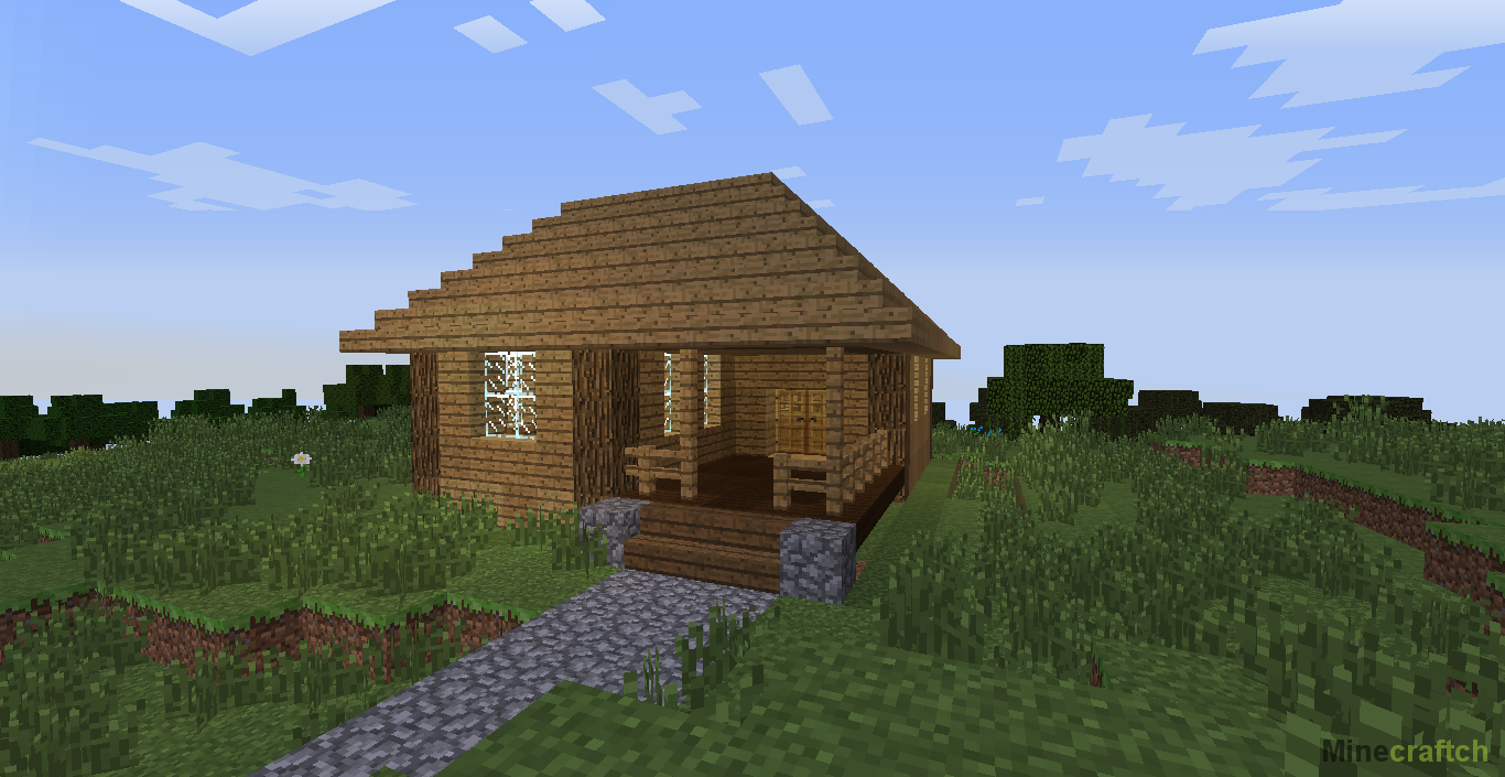 Как построить красивый дом(Архитектура Minecraft ...