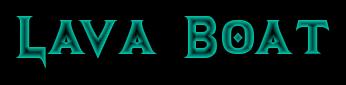 LavaBoat - Лодка для лавы в Minecraft 1.7.2