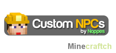 Custom NPC 1.7.2 - собственные мобы в Minecraft!