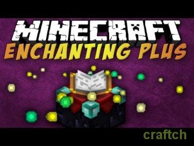 Enchanting Plus 1.7.2/1.6.4 - Контроль зачарований в Minecraft!