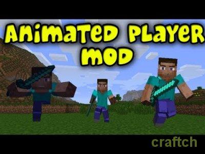 Animated Player - мимика персонажа в Minecraft