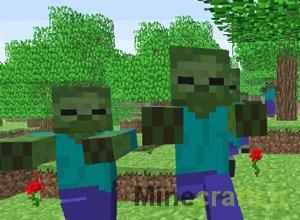 Зомби в Minecraft