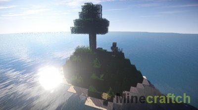 Карта Дерево для Minecraft 1.7.10