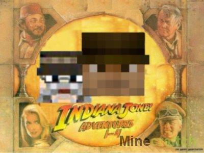 Indiana Jones - карта для Minecraft 1.7