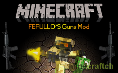 Ferullo's Guns - мод на оружие для Minecraft 1.5.2/1.6.4