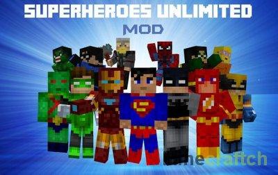 SuperHeroes - мод на супергероев в Minecraft 1.5.2/1.6.4