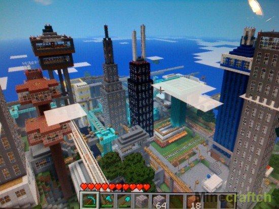 Майнкрафт 1.5.2 Карты Городов