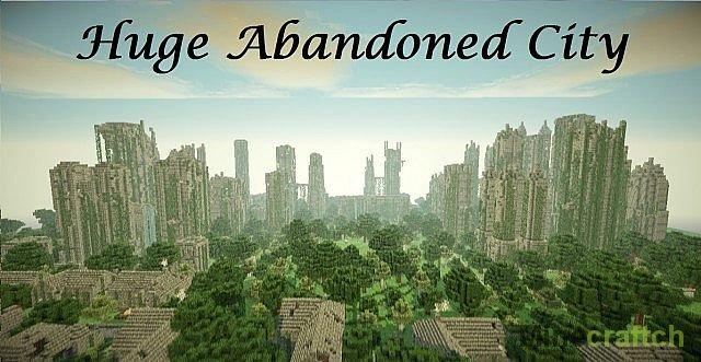 Скачать Карту Для Minecraft Заброшенный Город - фото 4