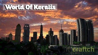 Город будушего - карта World of Keralis
