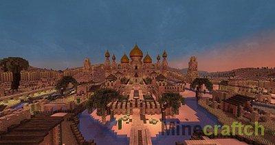 Карта Desert City of Alkazara для Minecraft