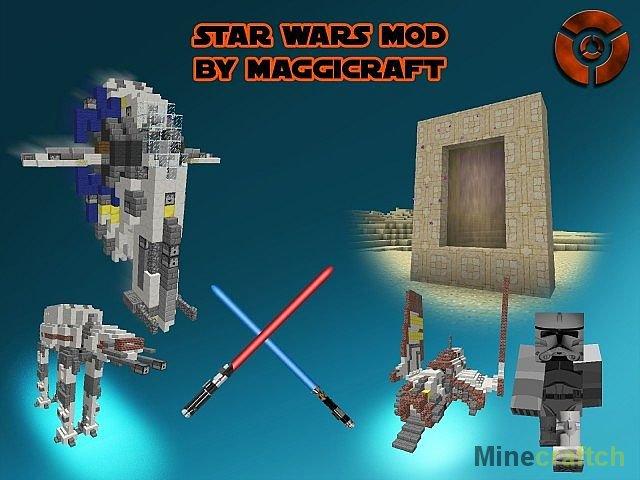 моды на майнкрафт 1.7.10 на star wars #3