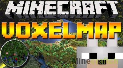 VoxelMap - мод на мини карту на Minecraft 1.8/1.7.10