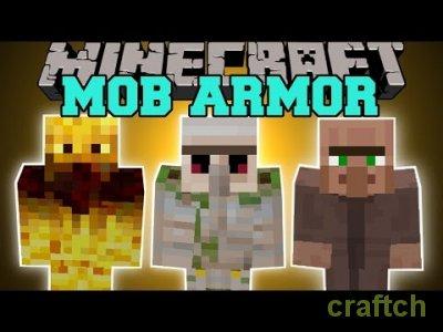 Mob Armor - мод на броню для Майнкрафт 1.7.10