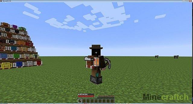 6e23334064b4 Мод на рюкзаки на Minecraft 1.7.10 - скачать Adventure Backpack.