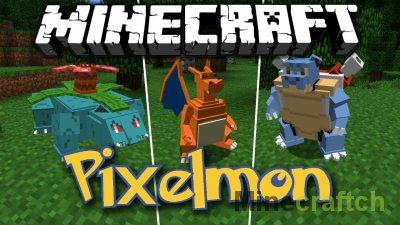 Мод на Покемонов в Minecraft - Pixelmon 1.6.4/1.7.2/1.7.10