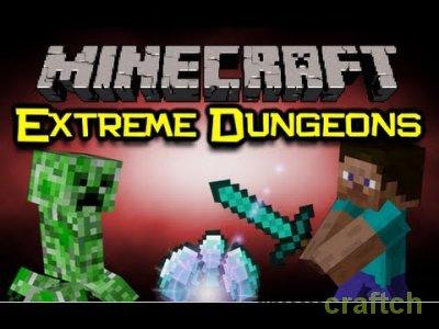 Extreme Dungeons - Мод на данжи в Майнкрафт 1.5.2/1.6.4