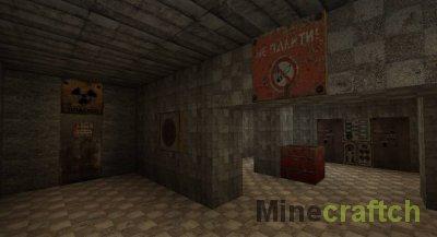 Чернобыль - текстуры Stalker для Minecraft 1.5.2/1.6.4/1.7.2