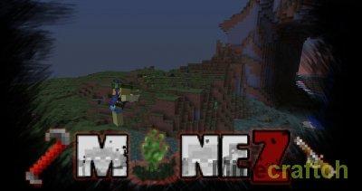 Mine Z - Текстуры DayZ для Майнкрафт 1.5.2/1.6.4/1.7.2