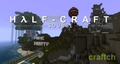 Half Life - Текстуры для Майнкрафт 1.5.2/1.6.4