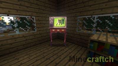 Видео гайд: Создание телевизора в Minecraft