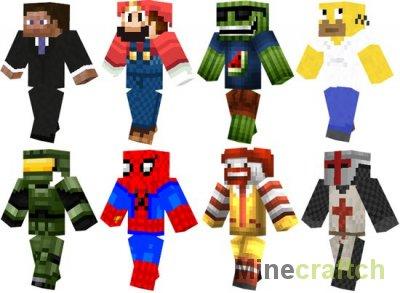 Видео гайд: Создаем скин в Minecraft