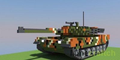 Гайд с видео: Сделаем в Minecraft танк!