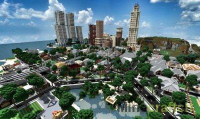Видео гайд: Строим город в Minecraft