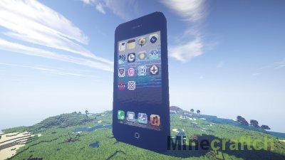 Видео гайд: Делаем в Minecraft мобильный телефон