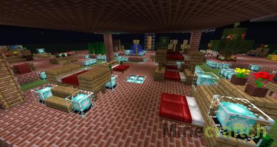 Видео гайд: делаем мебель в Minecraft