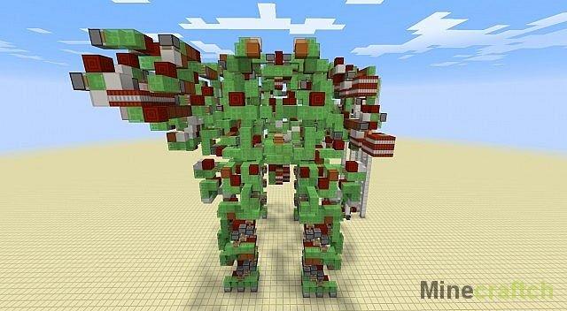 карта на майнкрафт механический робот 1.7.5 #7