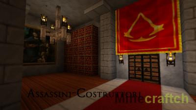 Текстур-пак ~Assassini-Costruttori~ Ассасин Крид для Майнкрафт