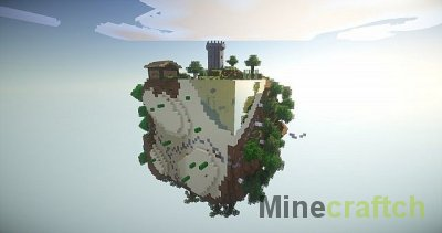 Cube Block - карта на выживание для Майнкрафт