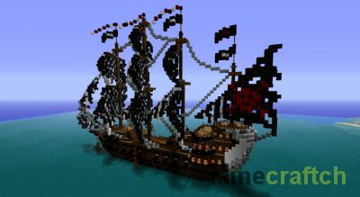 Карта корабль - Minecraft 1.5.2 - YouTube