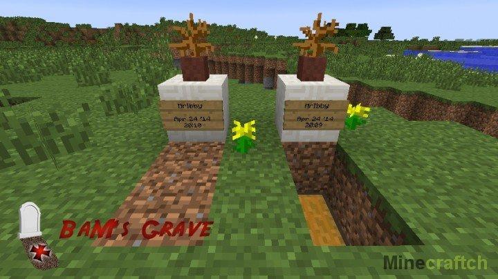 Мод на майнкрафт 1.7.10 на могилы