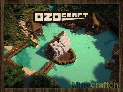 OzoCraft - Текстур пак Майнкрафт Средневековье для 1.8