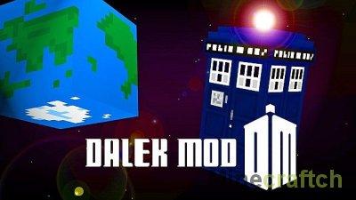 Dalek Mod - Мод на Доктора Кто для Майнкрафт 1.8/1.7.10/1.7.2/1.6.4