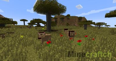 LotsOMobs - Мод на животных для Майнкрафт 1.8