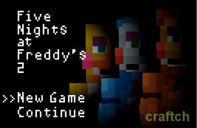 Five Nights at Freddy's - Карта 5 Ночей с Фредди для Майнкрафт