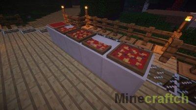 Master Chef Mod - Мод на еду для Майнкрафт 1.8/1.7.10/1.7.2