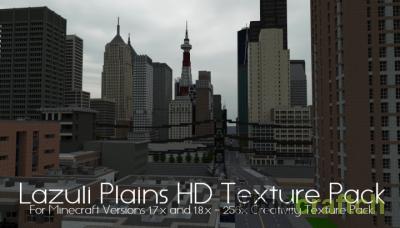 Lazuli Plains HD - Современные текстуры для Майнкрафт