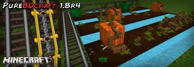 Текстуры PureBDcraft для Майнкрафт 1.8/1.7.10